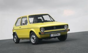 volkswagen Golf Mark I debutta 1974