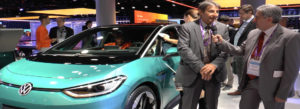 Volkswagen ID.3 a Francoforte - Intervista a Grioni